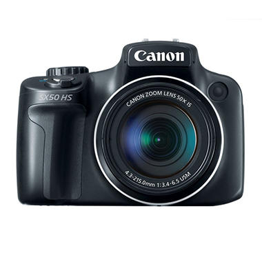 Canon SX50 12.1MP Digital Camera with 50x Optical Zoom