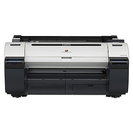 Canon imagePROGRAF iPF670 Large Format Printer