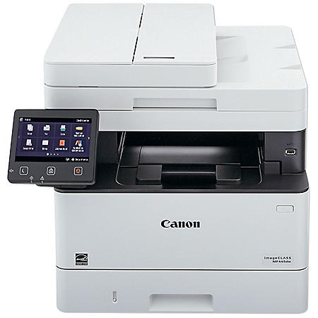 Canon imageCLASS MF445dw Black and White Compact Multifunction Printer, Copy/Fax/Print/Scan