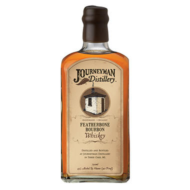 Journeyman Distillery Featherbone Bourbon Whiskey (750 ml)