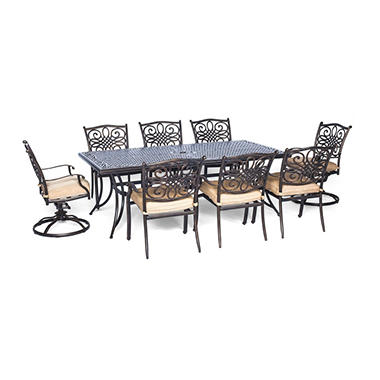 Tradtions 9-Piece Dining Set