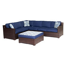 Metropolitan 5-Piece Lounge Set, Choice of Color