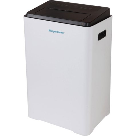 "Keystone 16,000 BTU 230V Portable Air Conditioner with ""Follow Me'' LCD Remote Control"