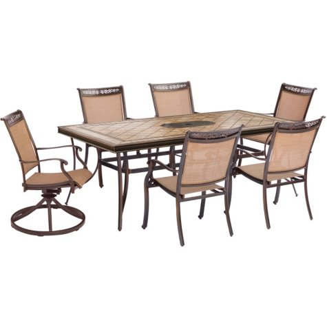 Hanover Fontana 7-Piece Dining Set