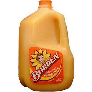 Borden Orange Juice (1 gal.)
