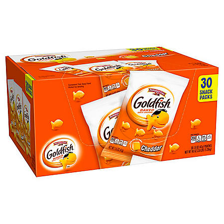 Pepperidge Farm Goldfish Snack Packs (1.5oz / 30pk)