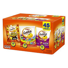 Pepperidge Farm Goldfish Savory Variety Pack (0.9 oz., 45 ct.)