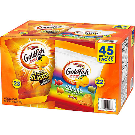 Pepperidge Farm Goldfish Variety Pack (0.9oz / 45pk)