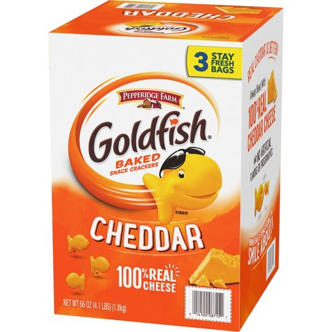 Pepperidge Farm Goldfish Crackers (22 oz., 3 ct.)