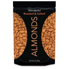 Wonderful Roasted & Salted Almonds (32 oz.)