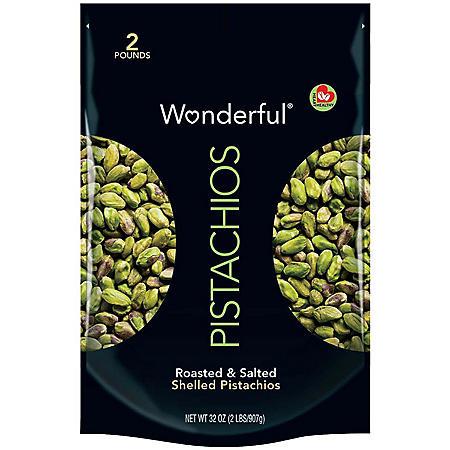 Wonderful® Pistachios Shelled - 32oz