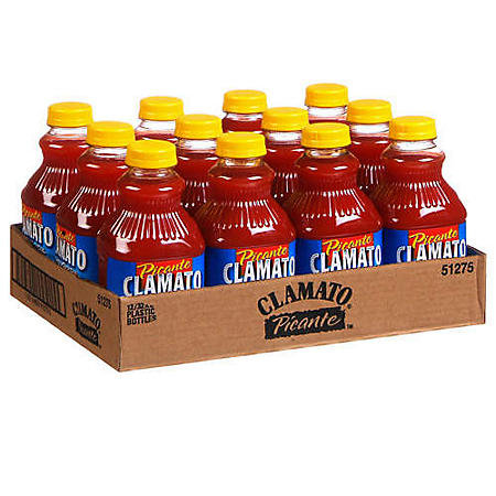 Clamato® Picante™ - 12/32oz bottles