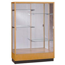 The Heritage 891 Series Display Case - Honey Maple