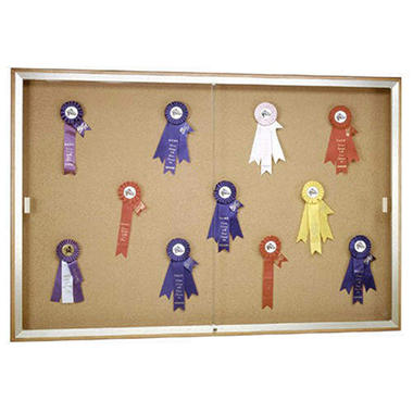 Legacy  Enclosed Bulletin Board - 3' x 4'