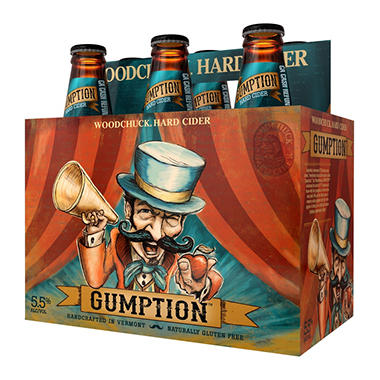 Woodchuck Gumption (12 fl. oz. bottles, 6 pk.)