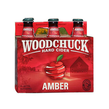 Woodchuck Amber Hard Cider (12 fl. oz. bottles, 6 pk.)