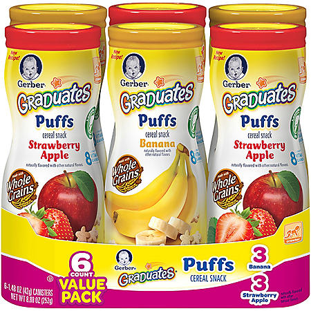 Graduates Fruit Puffs