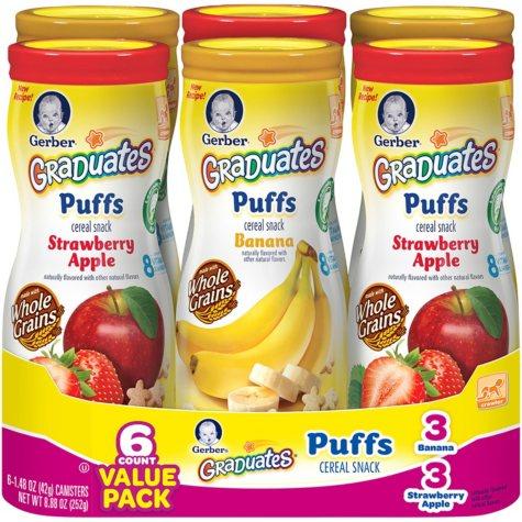 Graduates Fruit Puffs