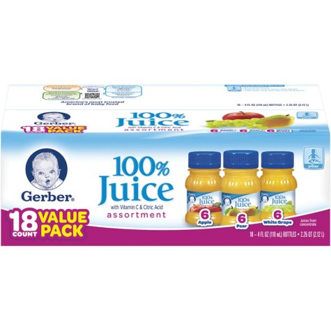 Gerber® Assorted Fruit Juice Pack
