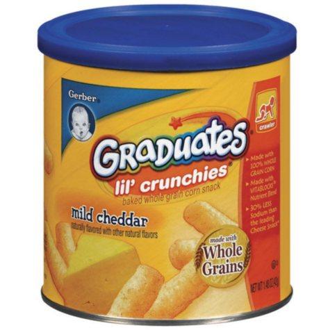 Gerber Graduates Lil Crunchies 3 pk