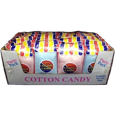 Flossie's Cotton Candy (1 oz. bag, 24 ct.)