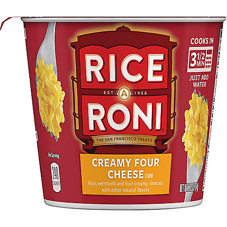 Rice-A-Roni Creamy Four Cheese Individual Cups (12 ct.)