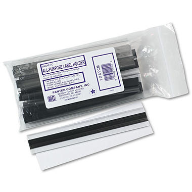 Clear Magnetic Label Holders - 10/pk.