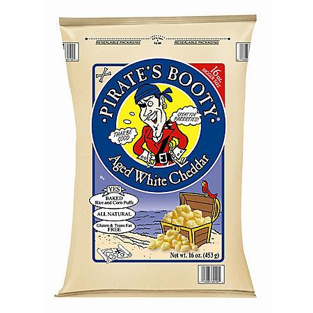 Pirate's Booty Aged White Cheddar Snacks (16 oz.)
