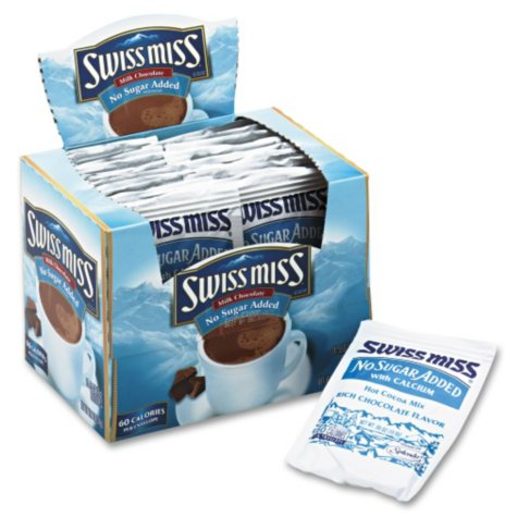 No Sugar Added Swiss Miss Hot Cocoa Mix (24 ct.)