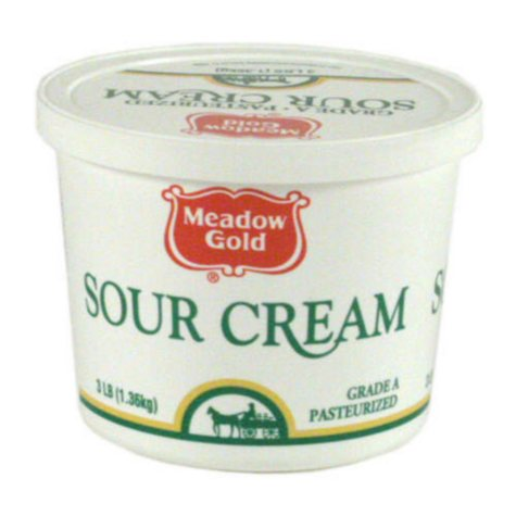 Meadow Gold Sour Cream - 3 lb.