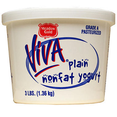 Viva Non-Fat Yogurt (3 lb.)