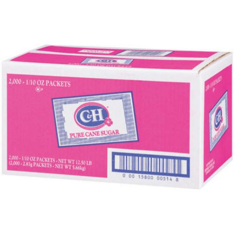 C & H Sugar Packets - 2000 ct.