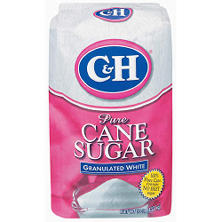 C&H Pure Cane Granulated White Sugar (10 lbs.)