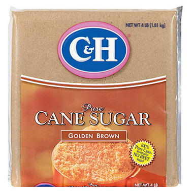 C&H Golden Brown Sugar - 4 lb. bag