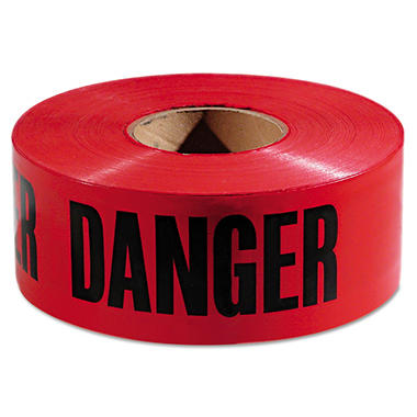 Empire Danger Barricade Tape - Red and Black (3
