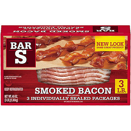 Bar-S Sliced Bacon (3 lb.)