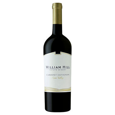 +WILLIAM HILL NAPA CABERNET RSV 750ML