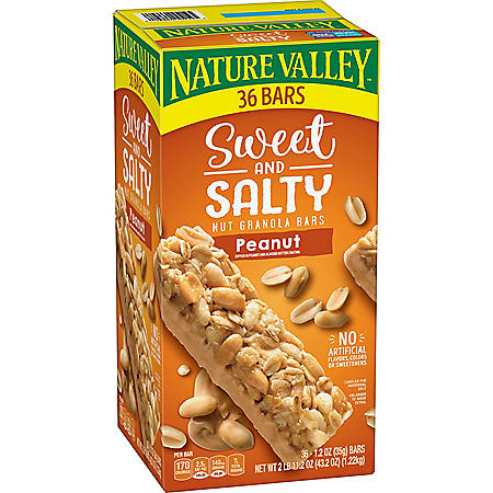 Nature Valley Sweet & Salty Peanut Granola Bars (1.2 oz., 36 ct.)