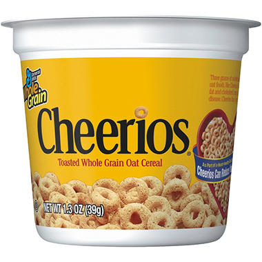 Cheerios Cereal (1.3 oz., 6 pk.)