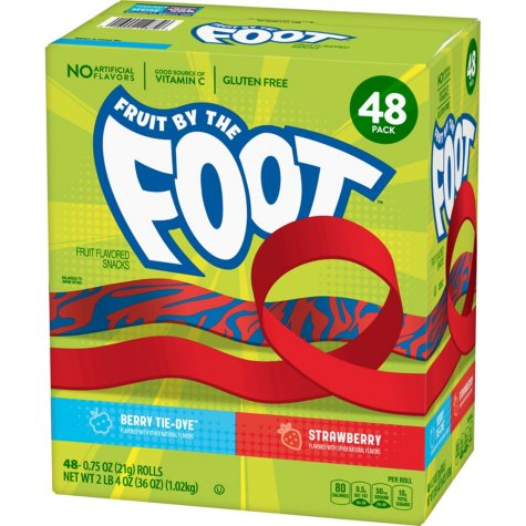 Fruit by the Foot, Variety Pack (0.75 oz., 48 pk.)