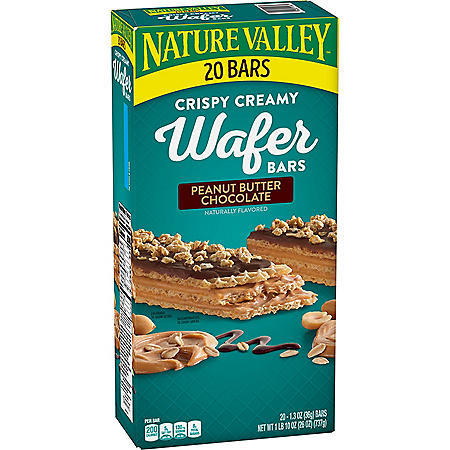 Nature Valley Peanut Butter Chocolate Wafer Bar (20 ct.)