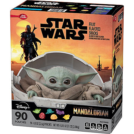 Star Wars Mandalorian Fruit Snacks, Assorted Fruit (90 pk.)