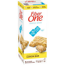 Fiber One Baked Lemon Bar (38 ct.)