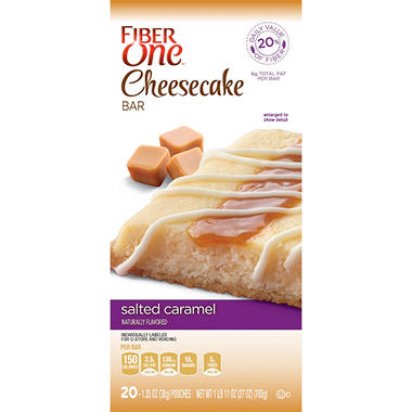 Fiber One Salted Caramel Cheesecake Bars (20 ct.)