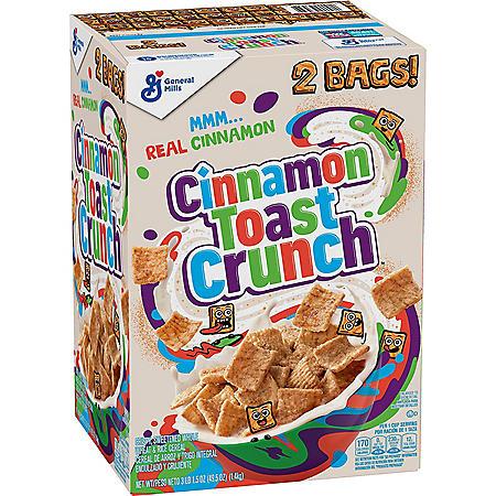 Cinnamon Toast Crunch Cereal (49.5 oz.)