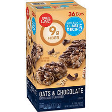 Fiber One Oats and Chocolate Chewy Bars (1.4 oz., 36 ct.)