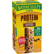 Nature Valley Peanut Butter Dark Chocolate Protein Chewy Bars (1.42 oz., 30 ct.)