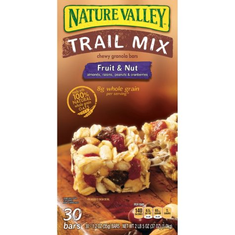 Nature Valley Chewy Trail Mix Bars - 30 ct.