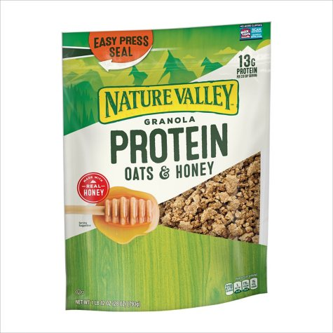 Nature Valley Oats 'n Honey Protein Crunchy Granola Cereal (28 oz.)