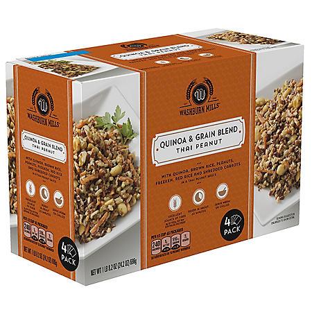 Washburn Mills Quinoa & Grain Blend,Thai Peanut (4 pk.)